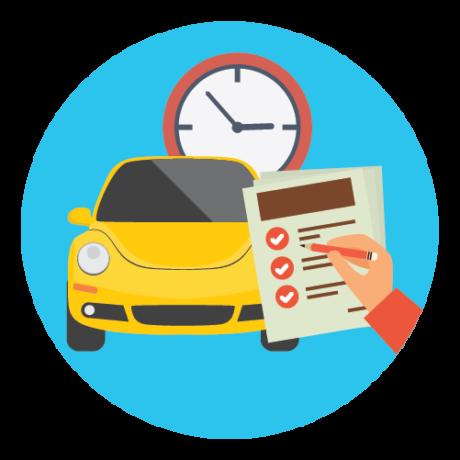 Certificato cronologico veicolo
